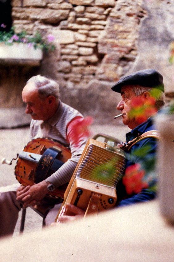 Georges Coiffard vielle Louis Batillat accordéon diatonique